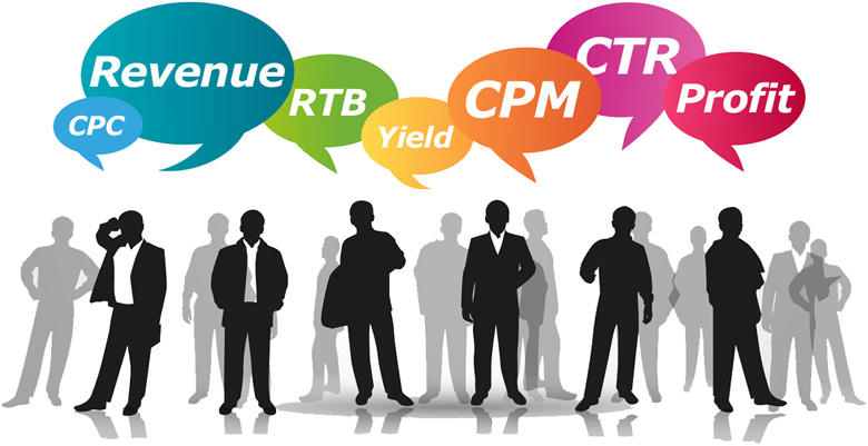 CPM, Revenue, Profit, RTB, Yield, CTR, CPC